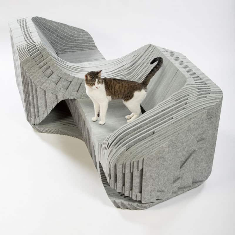 """Cat-à-Tête"" shelter by Formation Association, Arktura and BuroHappold"