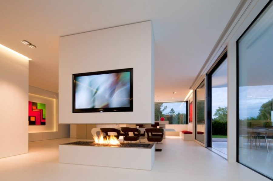 View In Gallery HI MACS House By Karl Dreer And Bemb Dellinger Architects