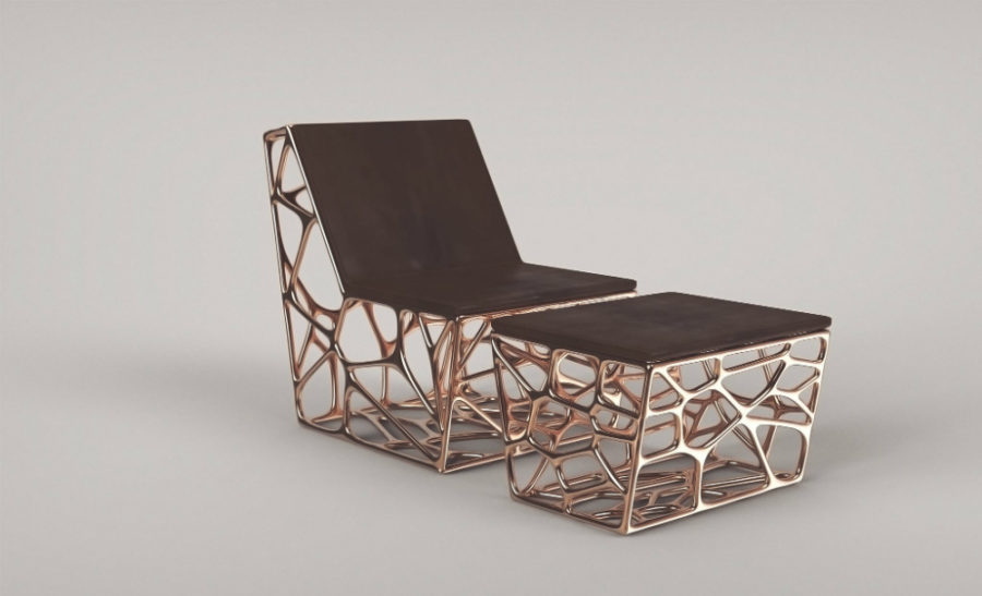 Ventury's 'Gaudi' – Lounge Chair