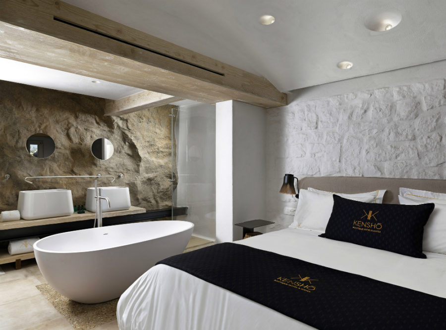 View In Gallery Kenshō Boutique Hotel Suites 900x667 Hotel Bath Ideas For  The Master Bedroom