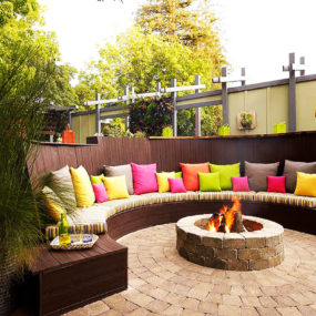 Outdoor It's All About the Layout 285x285 Fire Pit Design Ideas That Will Enhance Your Backyard