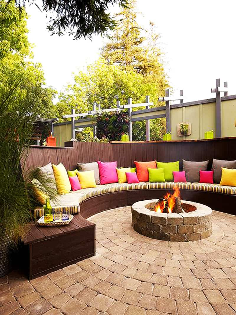 view in gallery the position of your backyard - Outdoor Fire Pit Design Ideas