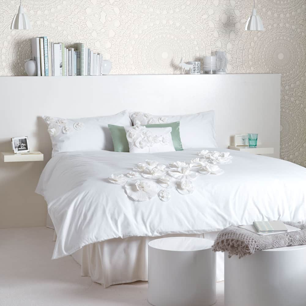 white bedroom – It's All About Texture