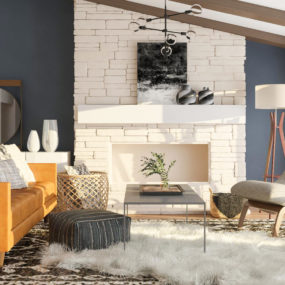 Fresh Feminine Farmhouse Living Room Ideas