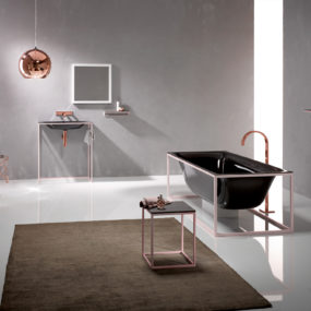 Enamel Steel Bathtub Bettelux by Bette