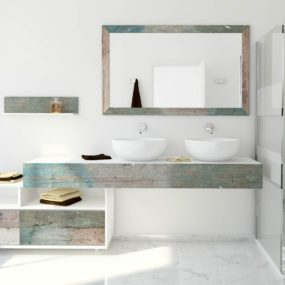 Weathered Wood Look Bathroom Vanities: Stunningly Beautiful