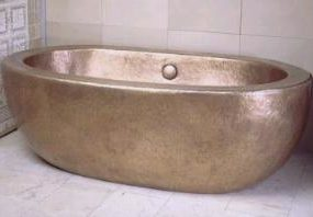 Ann Sacks Zen Copper bath by Robert Kuo – the art of copper