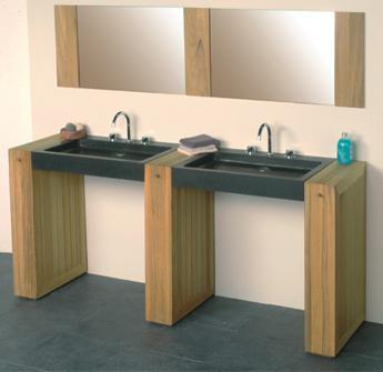 Teak bathroom furniture from Bristol and Bath
