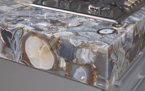 The Concetto Semi Precious Stone Countertops From Caesarstone