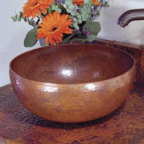 Copper Sinks by Native Trails – rustic copper