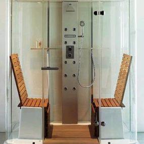 Duravit multi-function shower by Jochen Schmiddem – the Steam Shower cabin