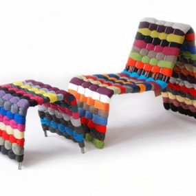 Fabric Chair by Green Furniture Sweden