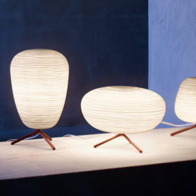 Frosted Glass Lantern Table Lamps by Foscarini – Rituals