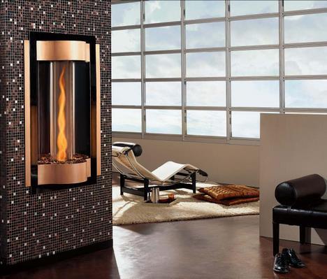 Cyclone Gas Fireplace by Heat & Glo