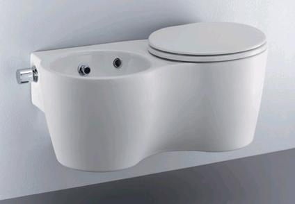 ideal standard small bidet and toilet in one