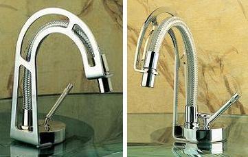 Lacavas Frame Faucet Line   unique Industrial style