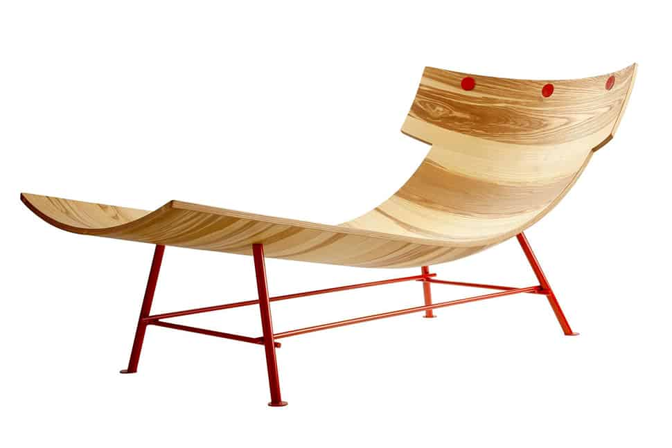 view in gallery molded wood chaise longue by lop 2 thumb 630x420 molded wood chaise longue by lop