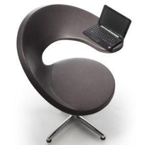 Netbook Lounge Armchair by Rossin – N@T