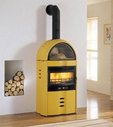 Wood Burning Stoves from Palazzetti   the Camilla wood stove