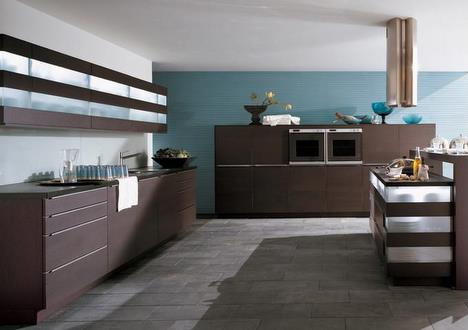 Cult Kitchen by Rational   the dark color kitchens