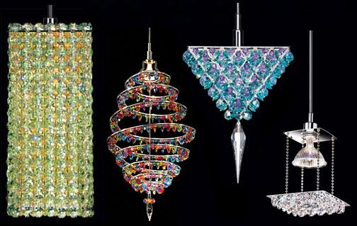 Schonbeks Geometrix   Crystal lighting goes Contemporary!