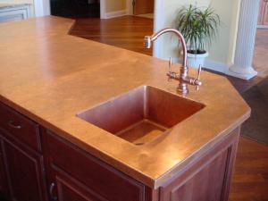 Copper Countertops by Eskay Metal Fabricating