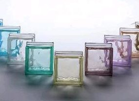 Pegasus Vetro Glass Block from Vetroarredo – color glass blocks