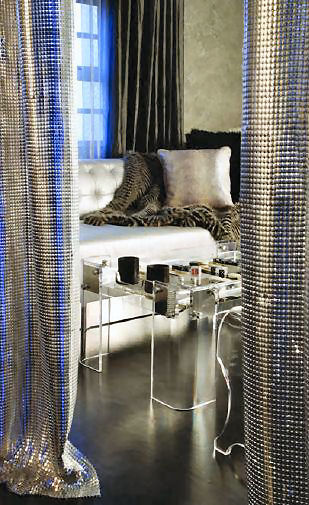 Metal Mesh by Whiting & Davis   the luxury material for your home decor