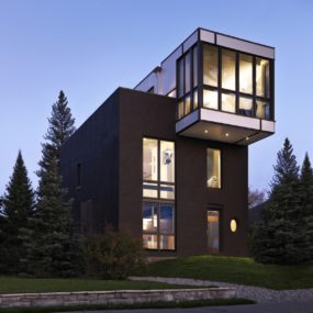 Renovation Modernizes Victorian Home with Cantilevered Master Suite