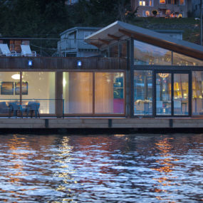 Floating Home Interiors for West Coast Living
