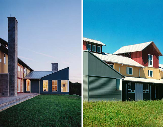 Contemporary Farm House in Virginia's Rappahannock County
