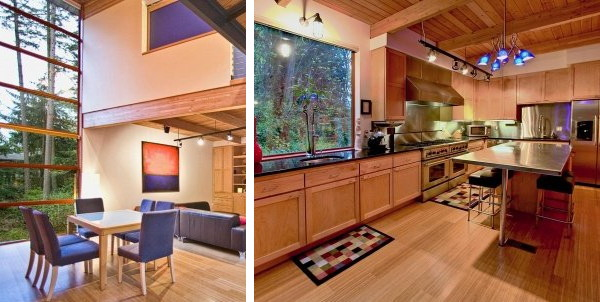 Modern Contemporary House for Sale in Mercer Island   Spectacular Natural Escape in Seattle!