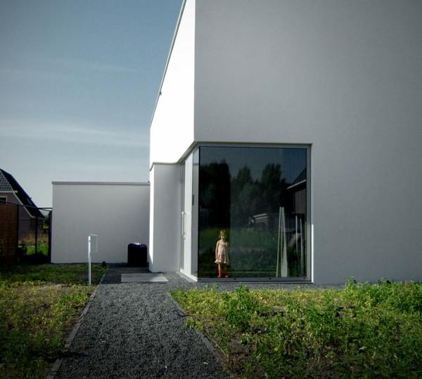 Alice In Wonderland Inspired House in The Netherlands   modern minimalist design