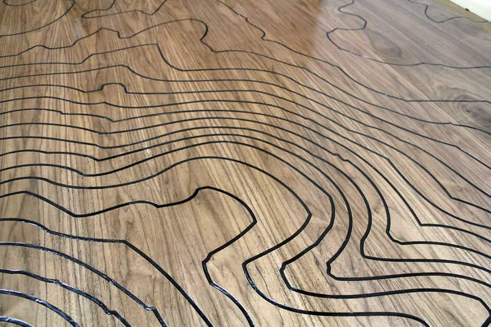 View in gallery cnc machine engraved floor kara paslay designs 6