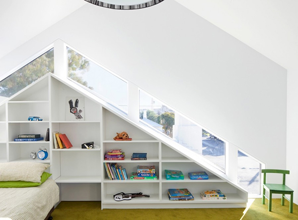 Interior Bookcase Design: a Modern Focal Feature