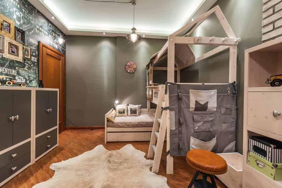 Loft Style Children S Room